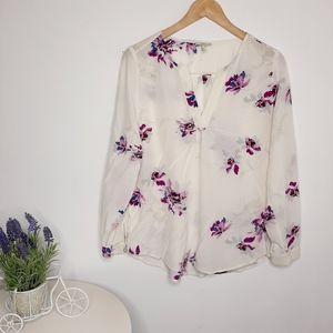 Joie Silk Blouse size L